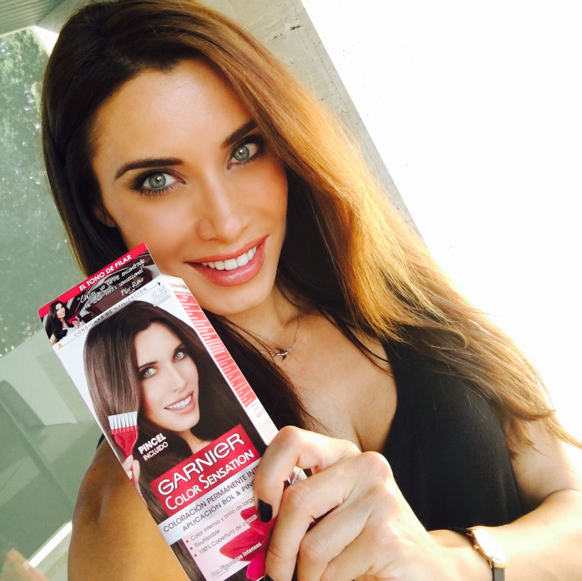Pilar Rubio On Twitter Im About To Change My Hair Color In 20
