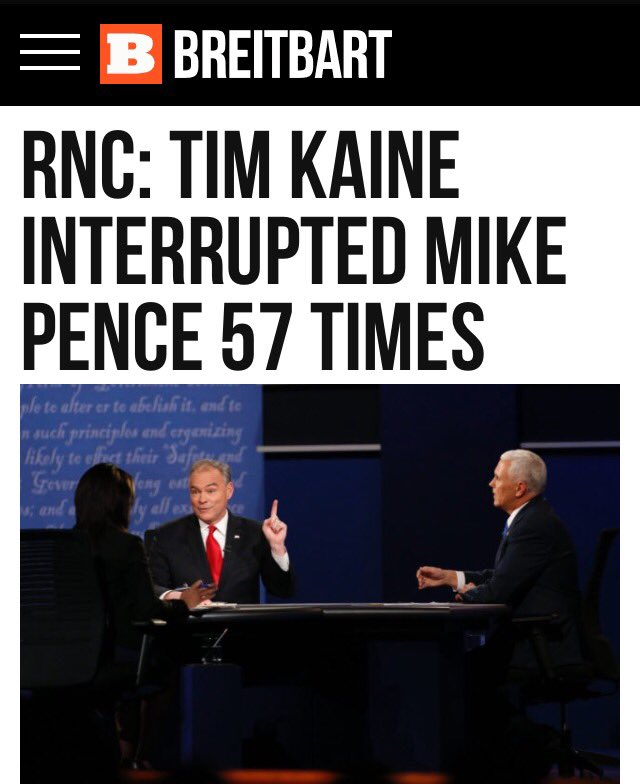 #VPDebate Summary   The #Kaine & #ElaineQuijano TAG TEAM Interrupt #Pence   To Protect Corrupt #Hillary… https://t.co/D1dS5eujAV
