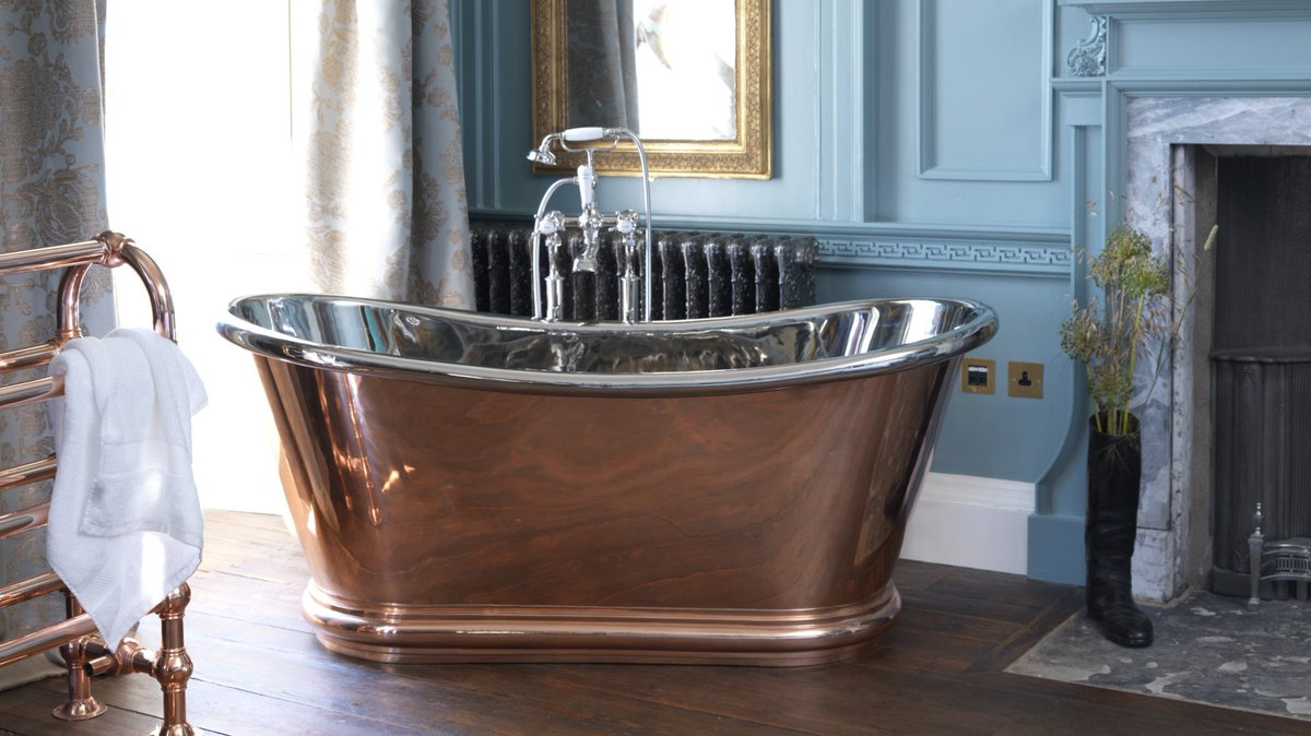 #Design Awesome of the Day: #Steampunk-ish #Copper Bateau Bath by @HurlinghamBaths v/ @dalaradesign #SamaCuriosities