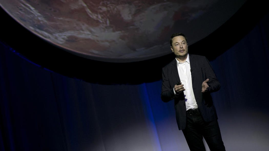 Space X's Elon Musk offers glimpse of plans for