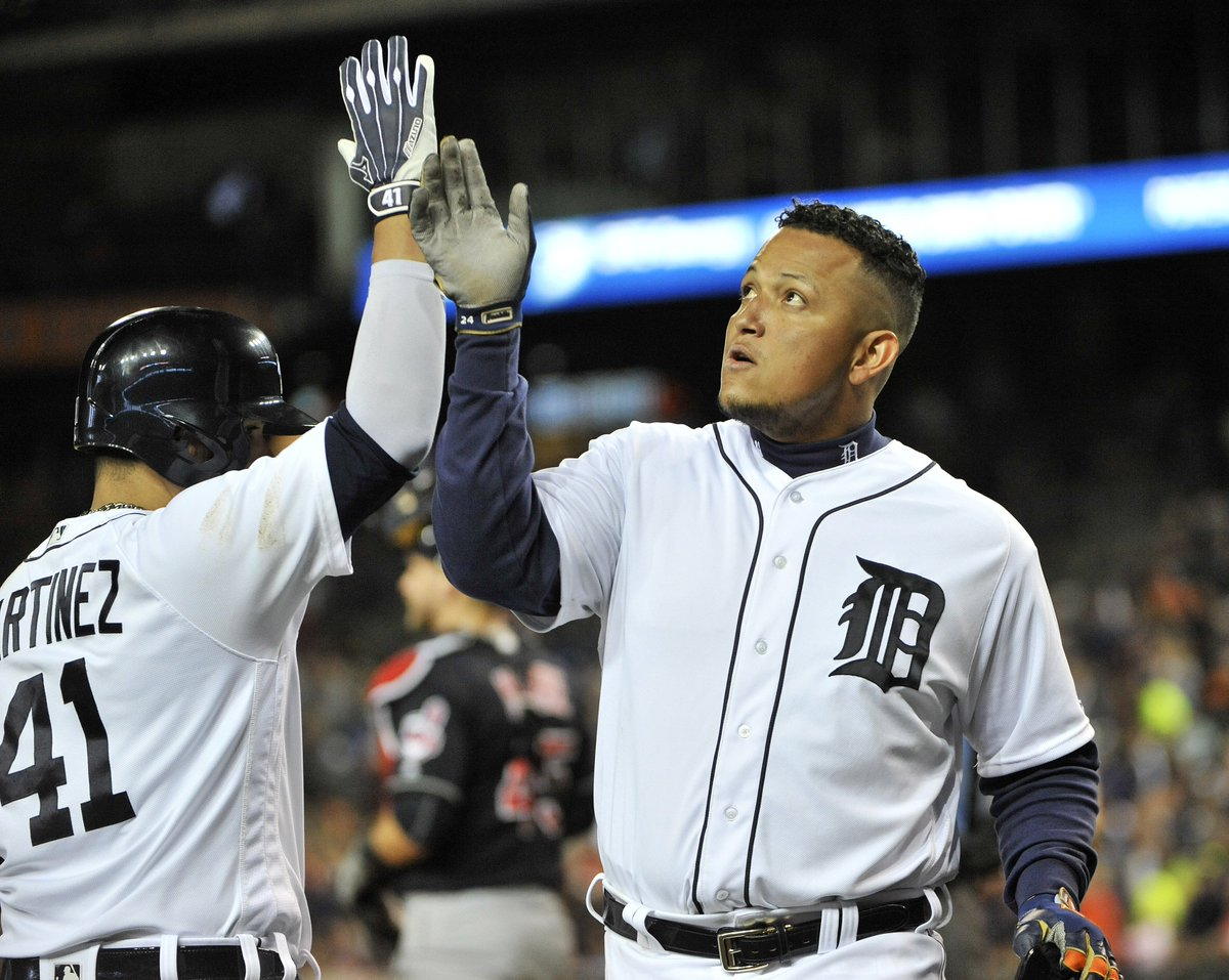 Final score: Tigers 12, Indians 0