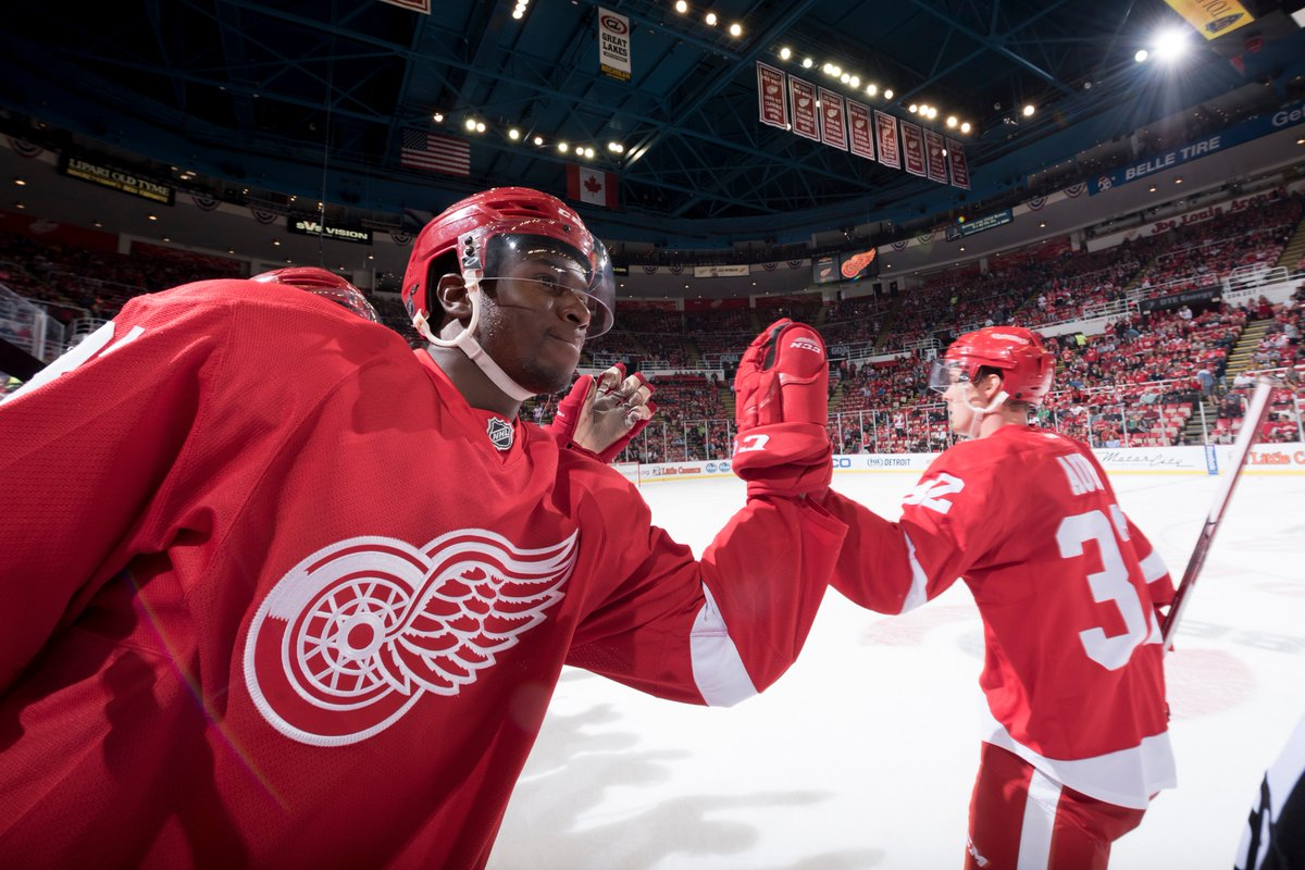 Give yourself a high-five. It's the 1st RedWings photo gallery of the season