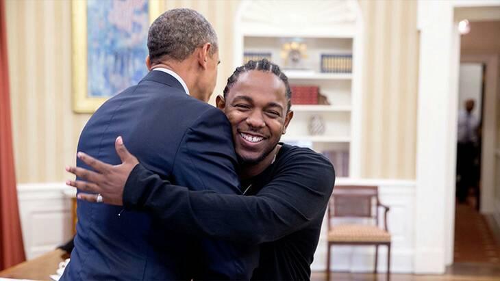 Kendrick Lamar & President Barack Obama