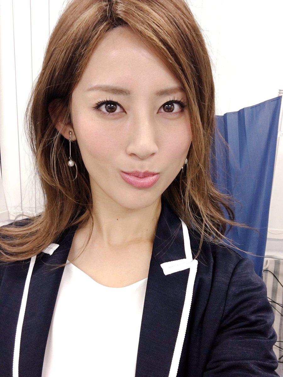 福田彩乃茶髪