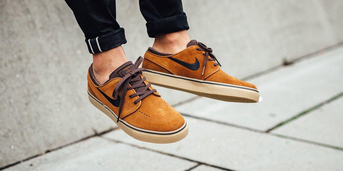 Nike SB Zoom Stefan Janoski - Hazelnut/Black-Baroque Brown SHOP HERE  https://t.co/dCerIQQutE…