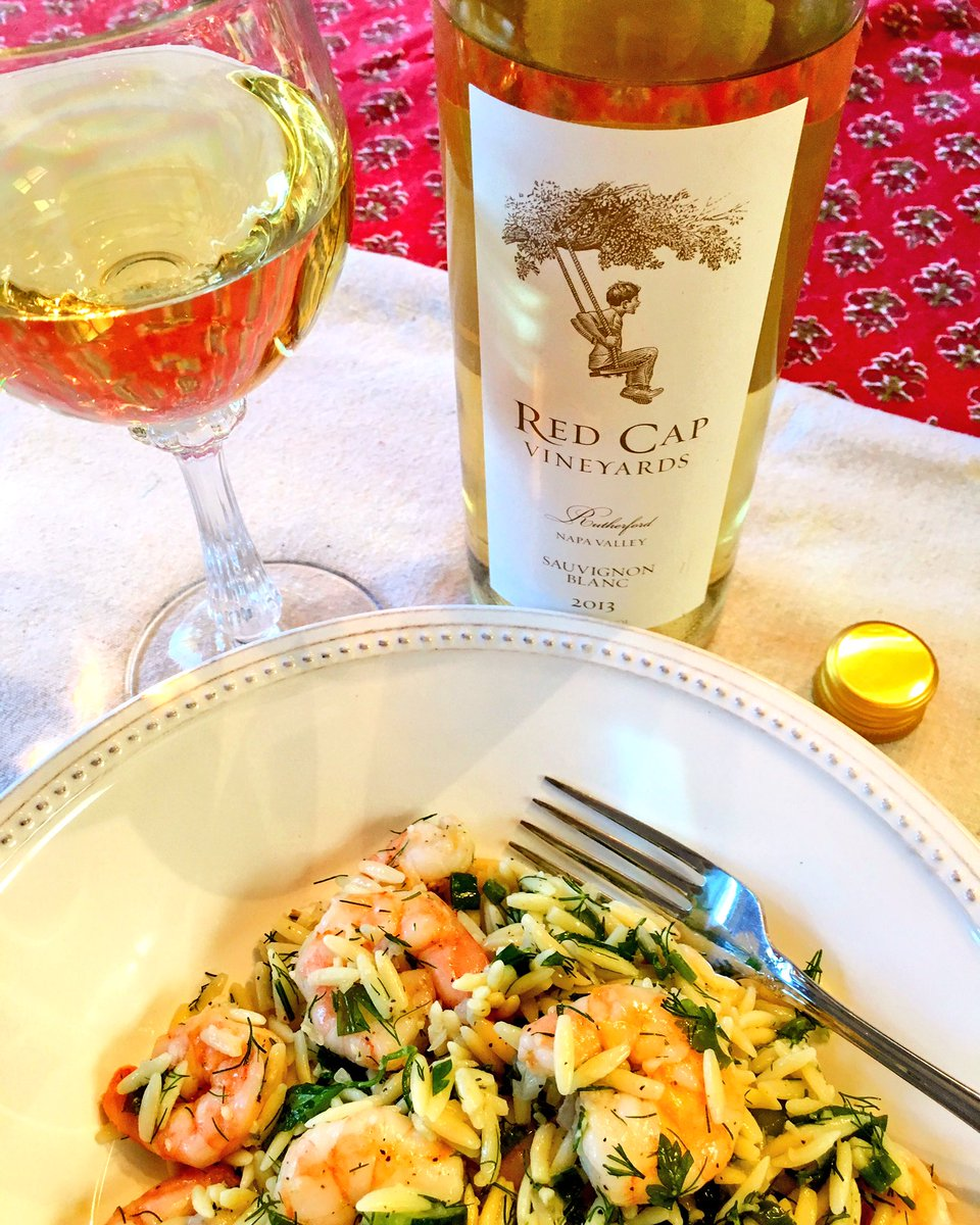 Summer weather dragging into fall but @RedCapVineyards Sauvignon Blanc to the rescue w/ roasted shrimp https://t.co/R4T6VUormO @Fiery01Red https://t.co/J6uP1yvRe9