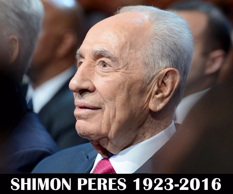 Thumbnail for Leaders mourn the passing of Shimon Peres