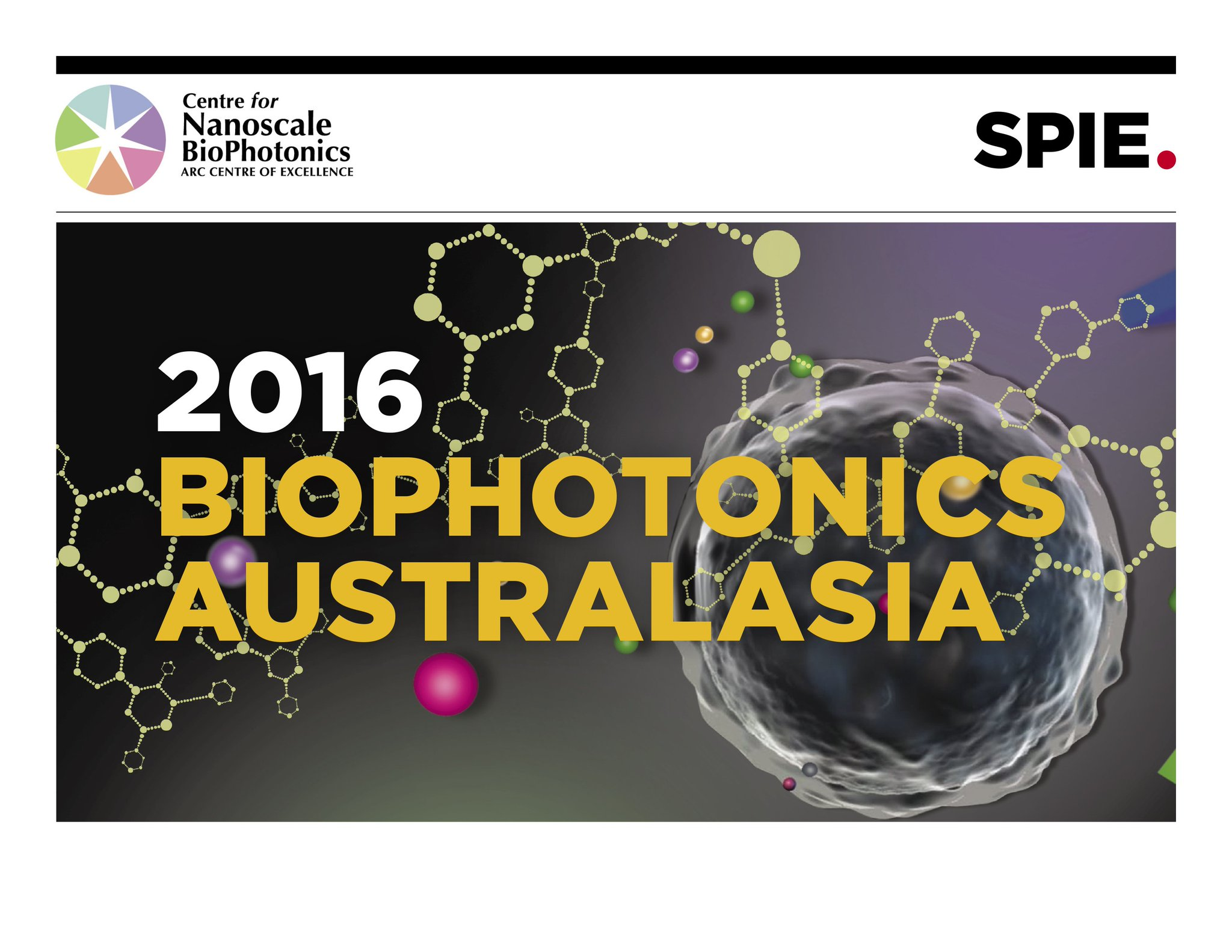 Inaugural SPIE BioPhotonics Australasia conference to shine brightly. Cohosted by #CNBP! https://t.co/sX01YYgEoa https://t.co/IjOdpYweD4