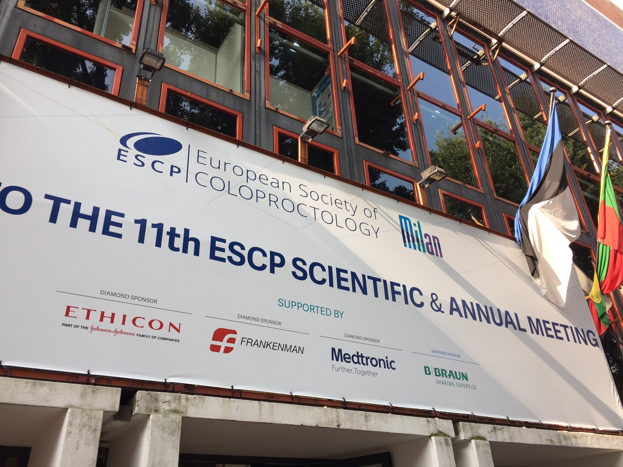 This morning at #escp2016 in Milan https://t.co/XzonYdn8L9