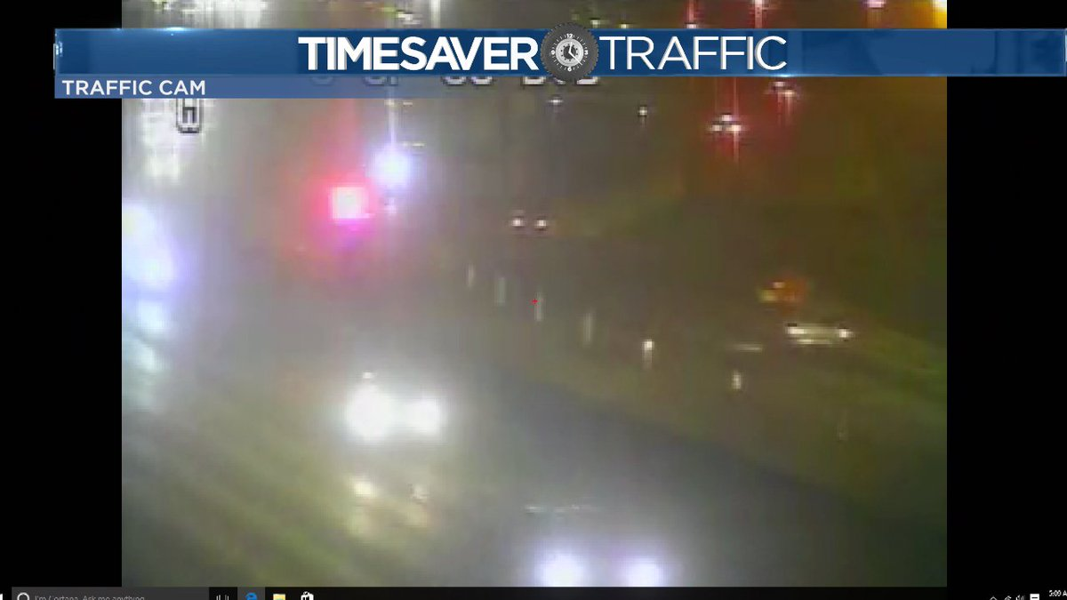 Cones gone... along I25 @Gooddayco Cotraffic