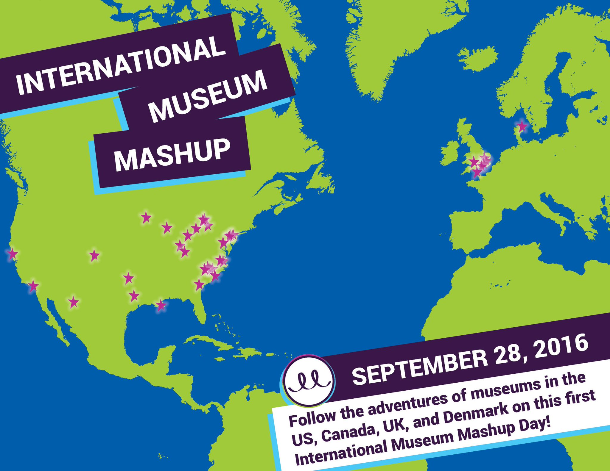TODAY'S THE DAY! Check out our map of who's participating in the #MuseumMashup! https://t.co/VYuMRV6Wg8 https://t.co/Lsjg6gIoLd