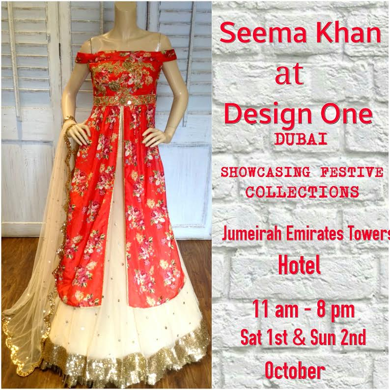 Design One Dubai...1st & 2nd October at The Jumeirah Emirates Towers Hotel
