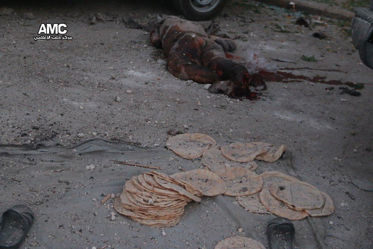 Российские запрещенные бункерные бомбы убили семьи, которые прятались в подвалах Алеппо, - The Times - Цензор.НЕТ 461