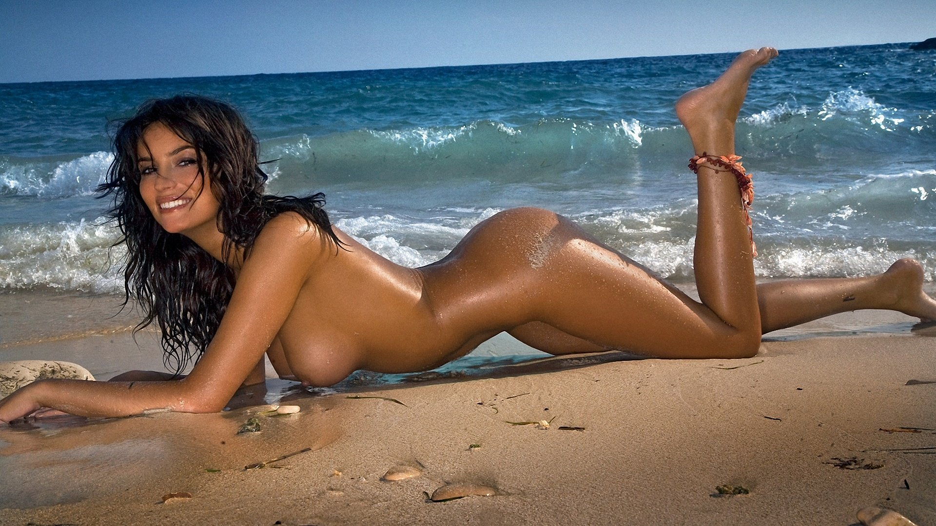 Hot women at a nude beach #2