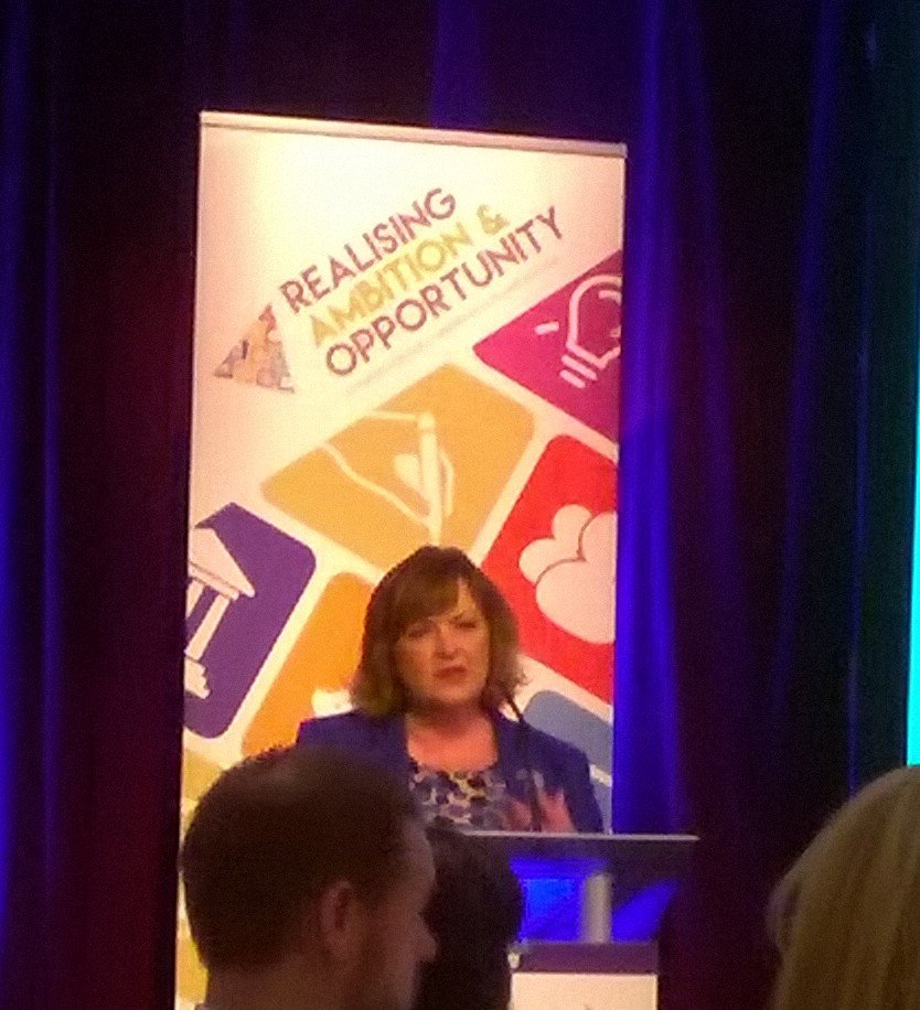 'Libraries improve the quality of people's lives and deliver key services' @FionaHyslop #scotlibstrat https://t.co/p0MWmGbPbV