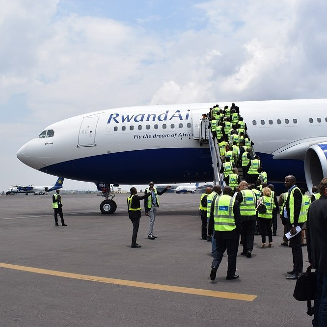 Welcome home  #Ubumwe, we are happy to have you.  #FlyRwandAir #FlyTheDreamAfrica  #A330 - 200 https://t.co/IQRGmVxW0c