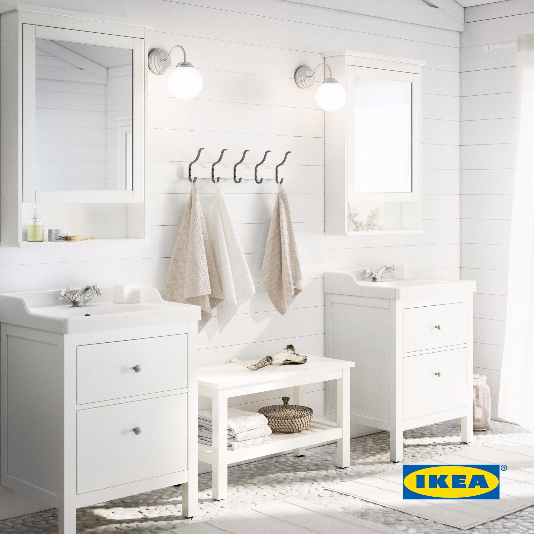 "IKEA Jordan on Twitter: ""You can easily turn your bathroom into a"