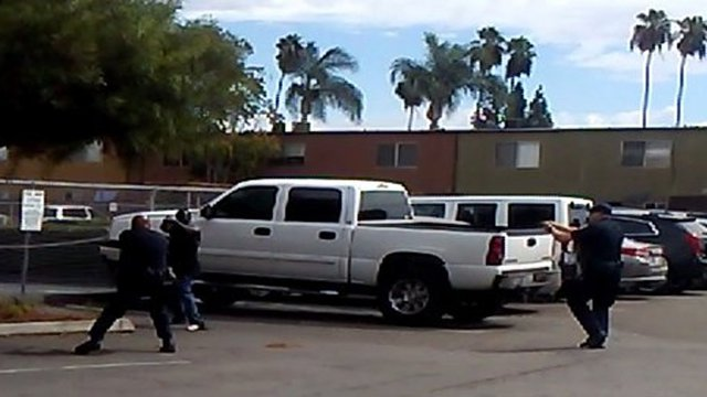 Man who took shooting stance shot and killed by California police ElCajon