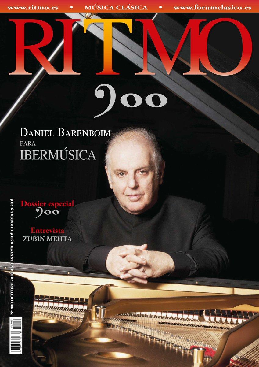 RT @RevistaRITMO Nuestro número 900 ya está disponible, gracias a todos los que han formado parte de él y de la historia de RITMO