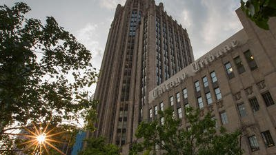 The $240 million sale of Tribune Tower is complete; mixed-use development planned