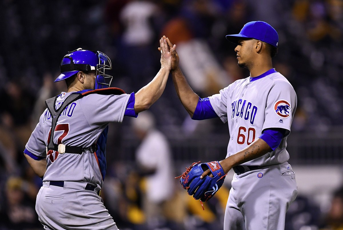 Cubs win 101st game beating Pirates 6-4