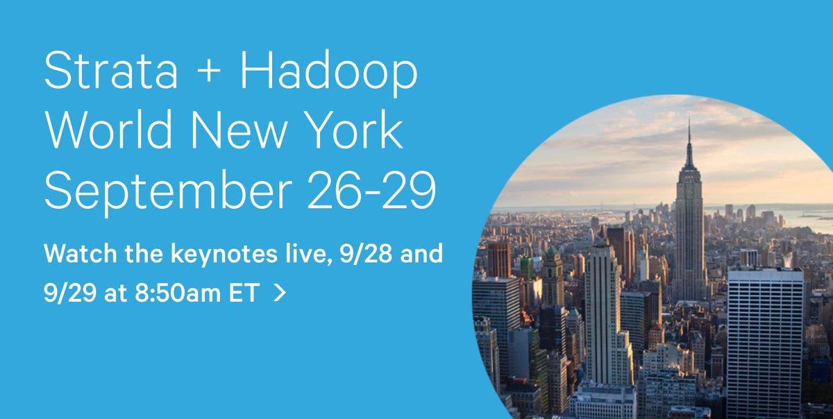 Video: Big data conference: Strata + Hadoop World, September 26