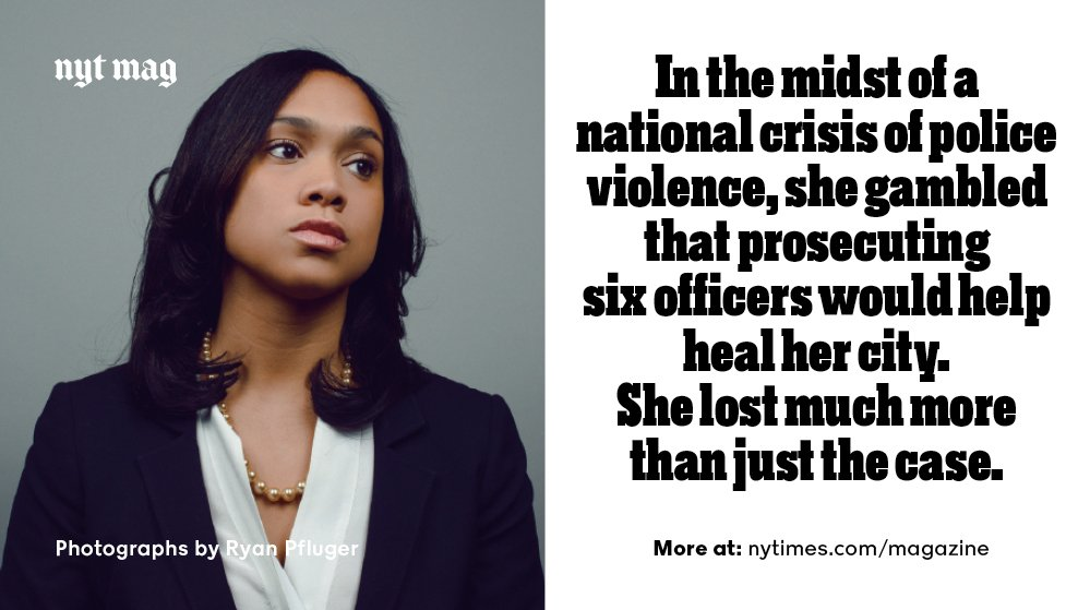 The Trials of Marilyn Mosby, by @wilshylton https://t.co/8KFNDydhbw https://t.co/eHm5ricPNF