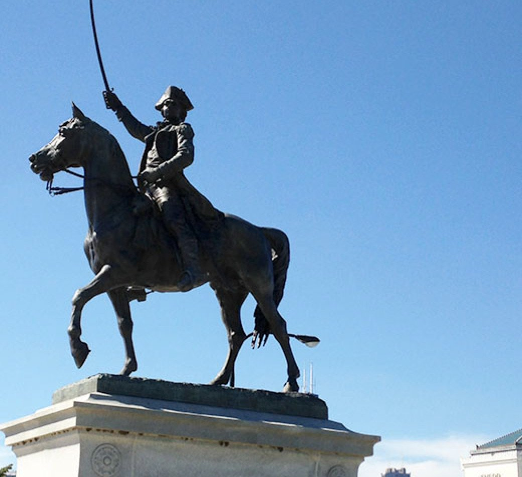 Do you know your Chicago statues? Test your knowledge; name these historic figures.
