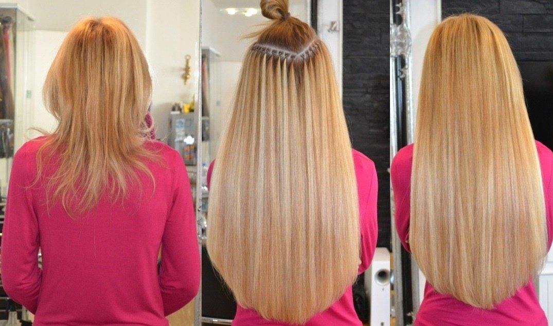 Haarverlangerung russische haare