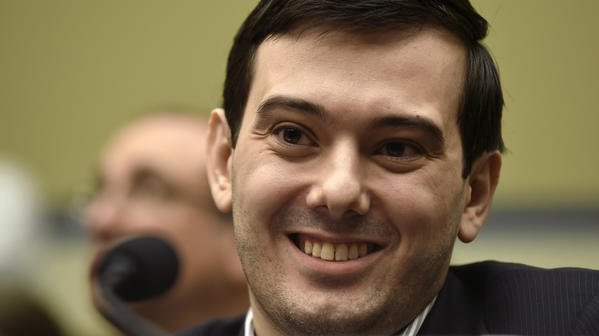 Pharmaceutical executive Martin Shkreli is giving people a chance to punch him in the face.