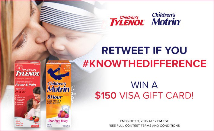 Do you #KnowTheDifference? RT if you do and you could win $150 Visa GC! https://t.co/bJkqbjCE5W #ad https://t.co/oPp8SDX5FH