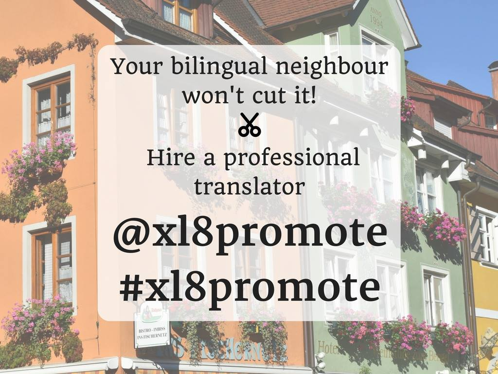 Looking for a translator? Did you know there are 1000s of translators on Twitter? Just search for #xl8promote. https://t.co/yghx1p8lkJ