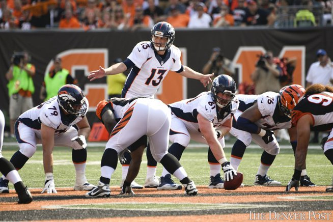 Broncos' Trevor Siemian named AFC offensive player of the week