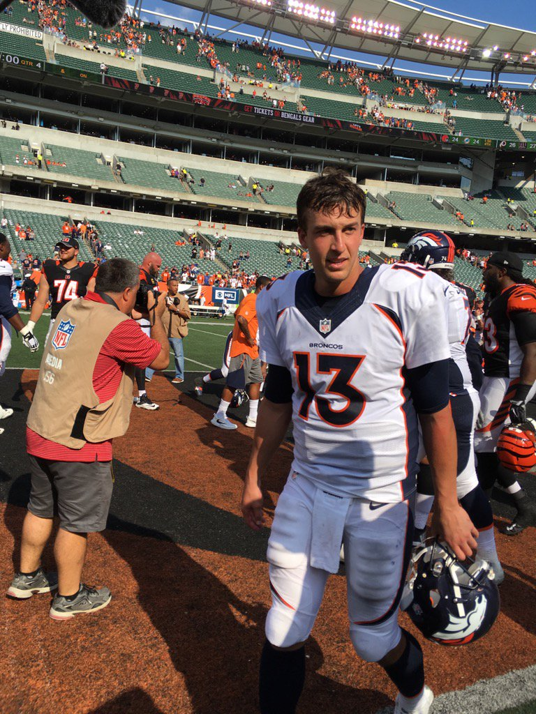 Quarterback Trevor Siemian named AFC offensive player of the week. He's our guest on the Huddle tonight! 9sports