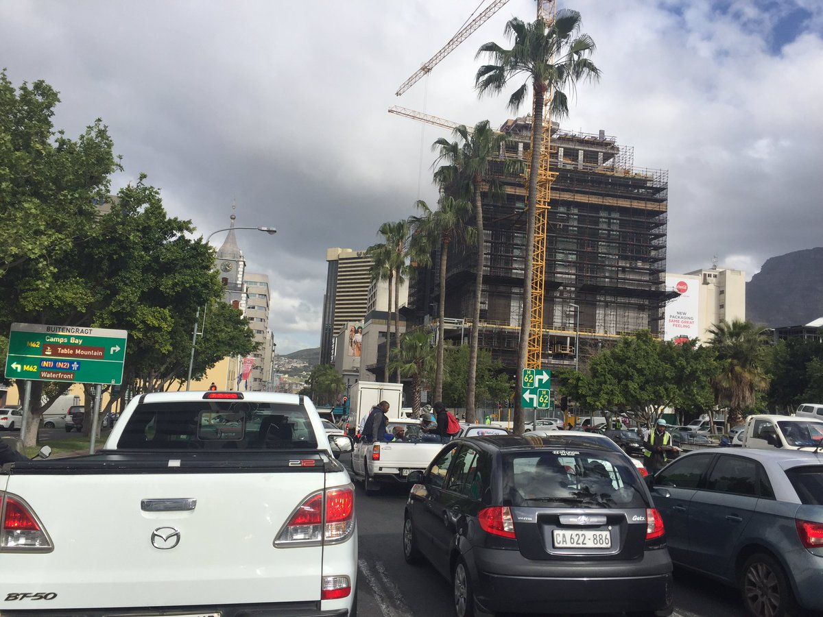 #CapeTown is in a state of permanent #gridlock.