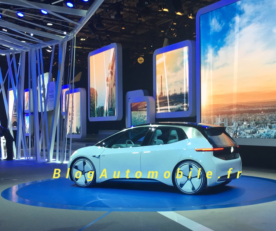 Volkswagen ev concept paris 2016 seatfansclubforum for Garage volkswagen paris 15