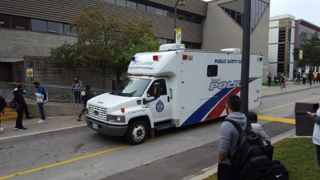 Parts of Centennial College briefly evacuated due to police investigation