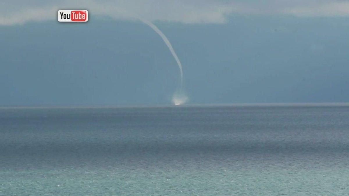 Waterspout seen on Lake Michigan...