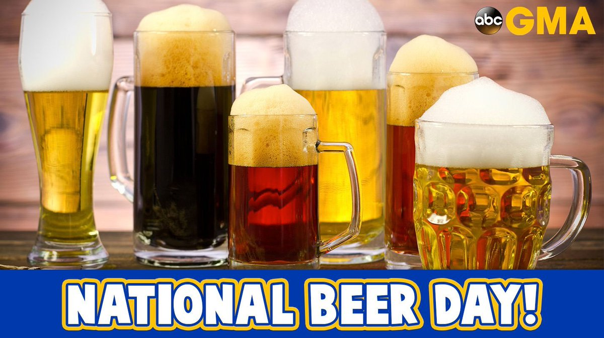 Happy NationalDrinkBeerDay!