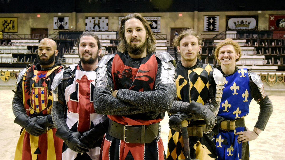 Ye olde fun: Knights, jousters and more share tricks of their trade.