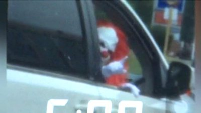 Virginia boy dressed as 'creepy clown' scares drivers