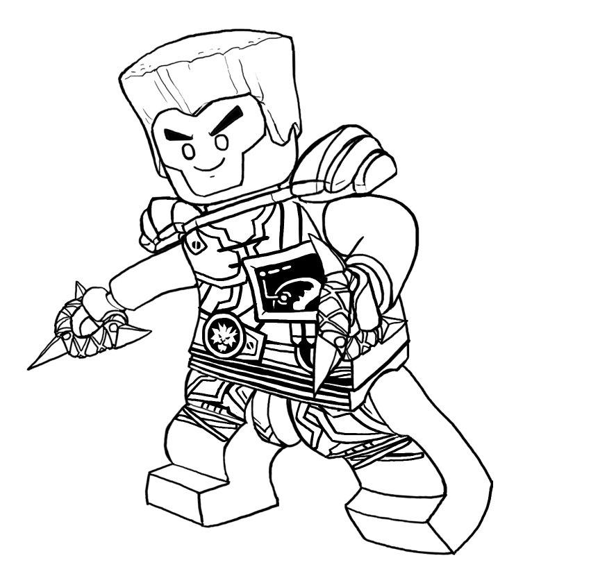 Lego Ninjago Season 9 Coloring Pages