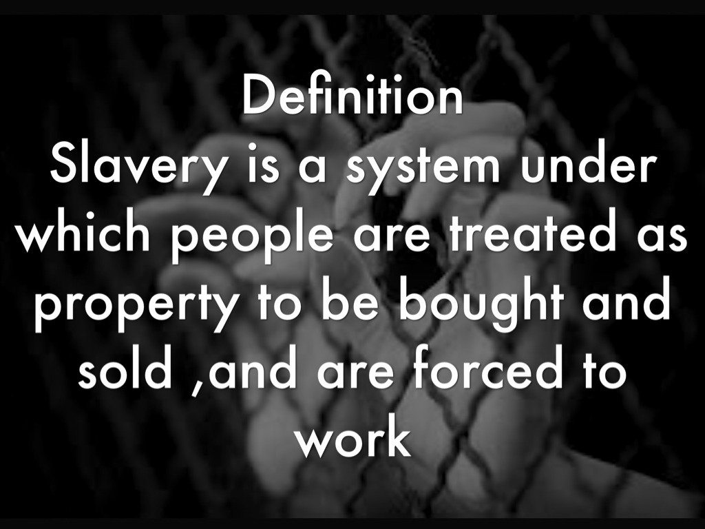 """tony robles on twitter: """"wait the definition of slavery sounds like"""
