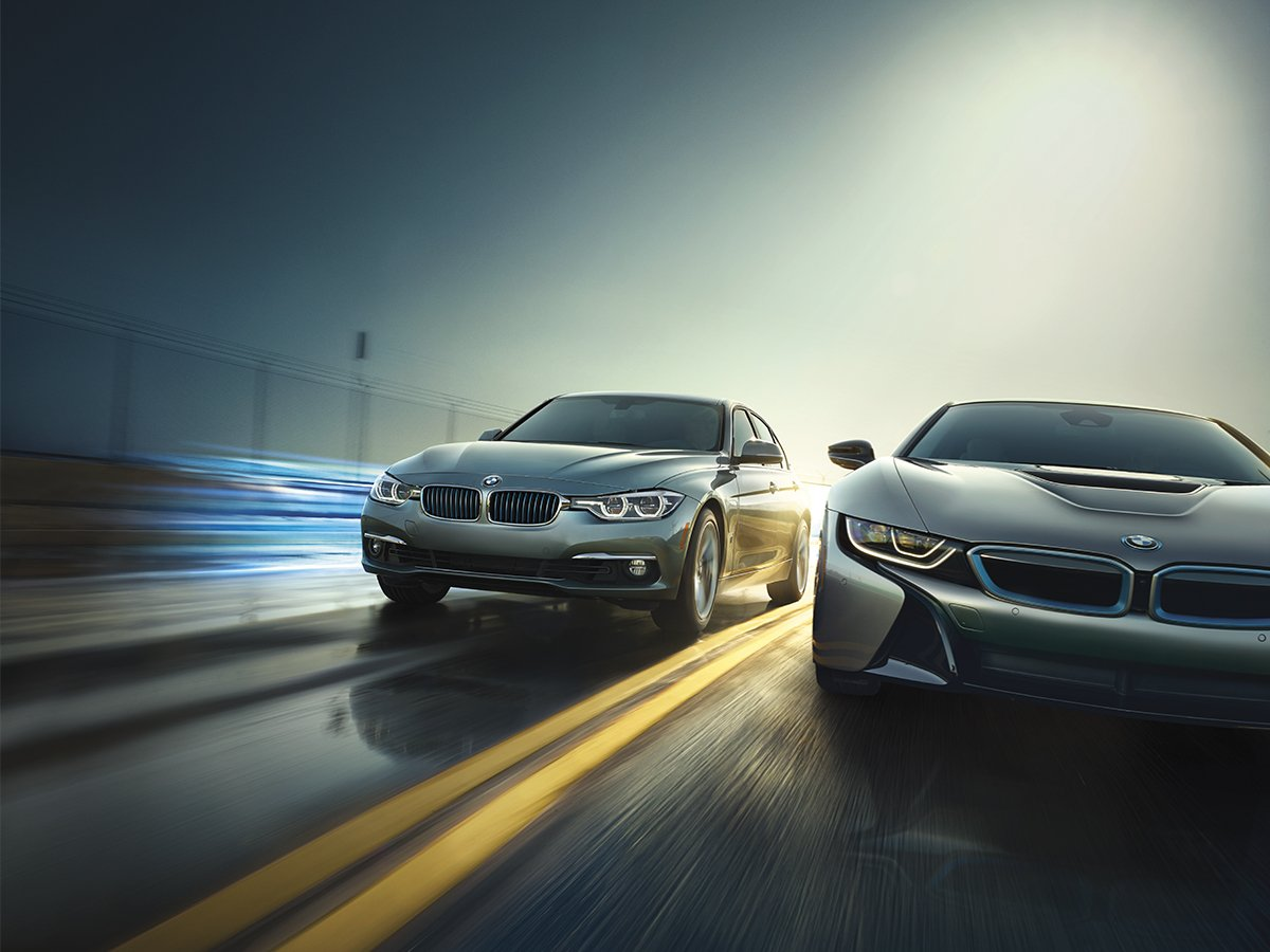 Image result for bmw i8 and iperformance ad