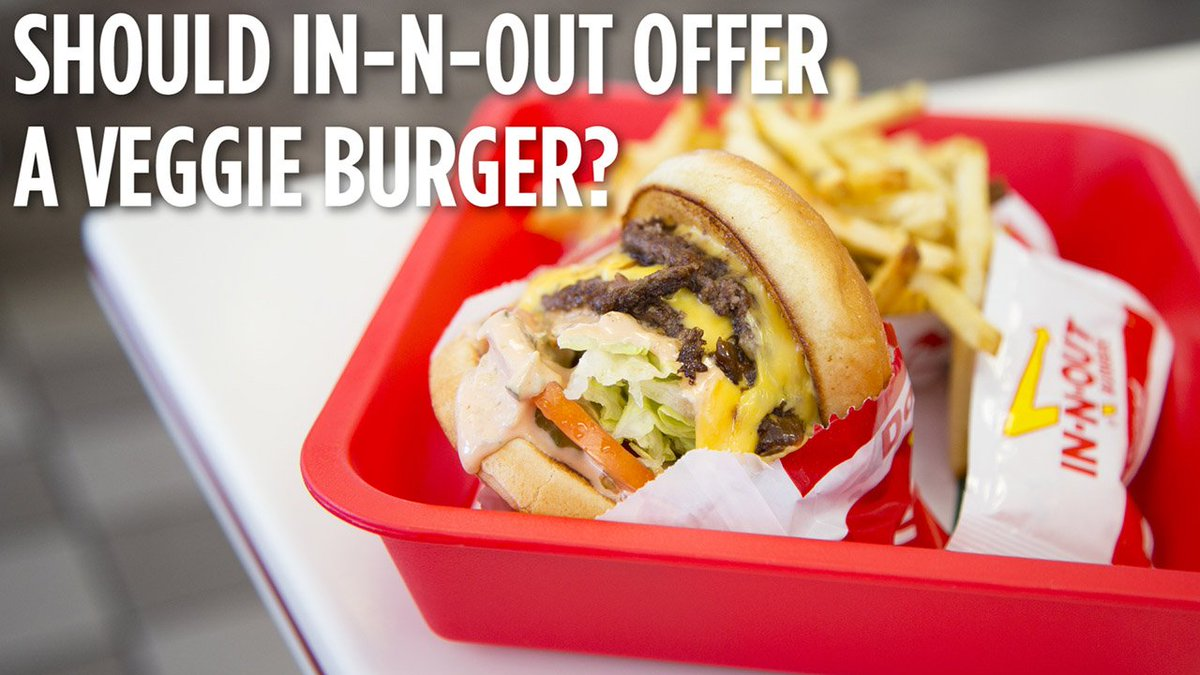 Over 35,000 people have signed a petition for In-N-Out to add a veggie burger to the menu