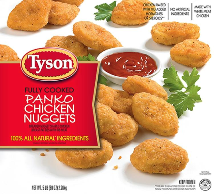 Tyson recalls chicken nuggets possibly contaminated with plastic
