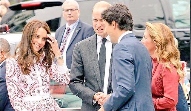 "fave royal west coast visit meme: ""the face you make  when you're married to a prince but meet justin trudeau."" https://t.co/4GxLWWPY9L"