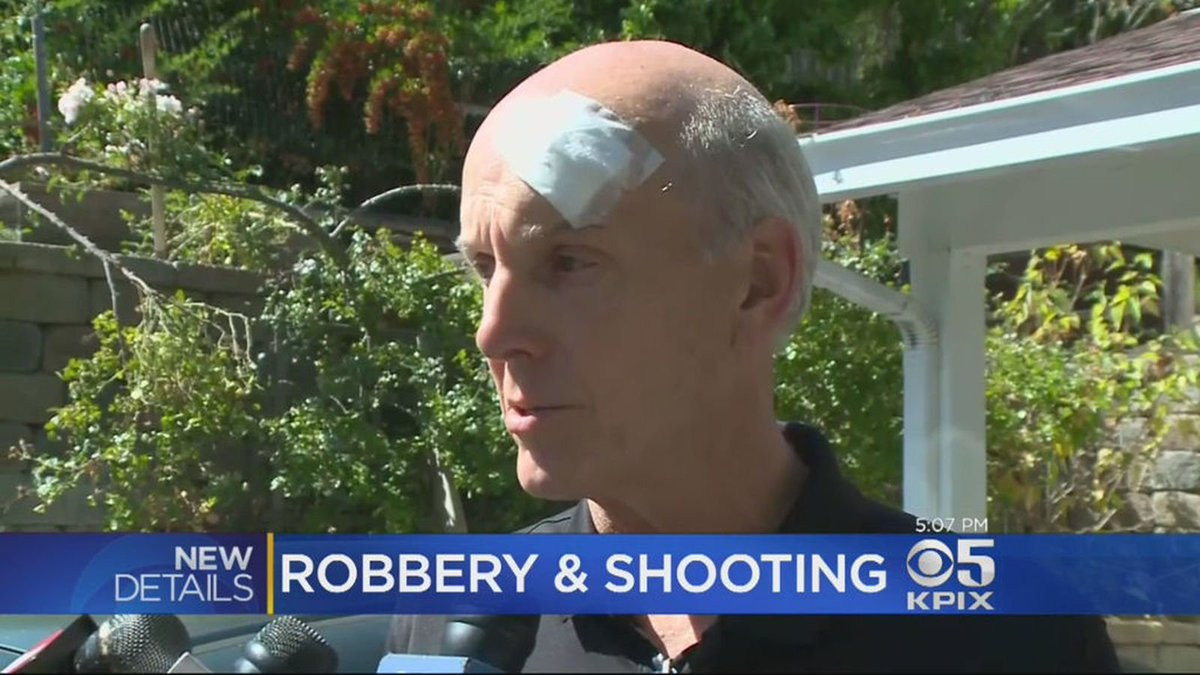 Gunmen in Halloween masks pistol-whip and shoot couple who thought it was a prank