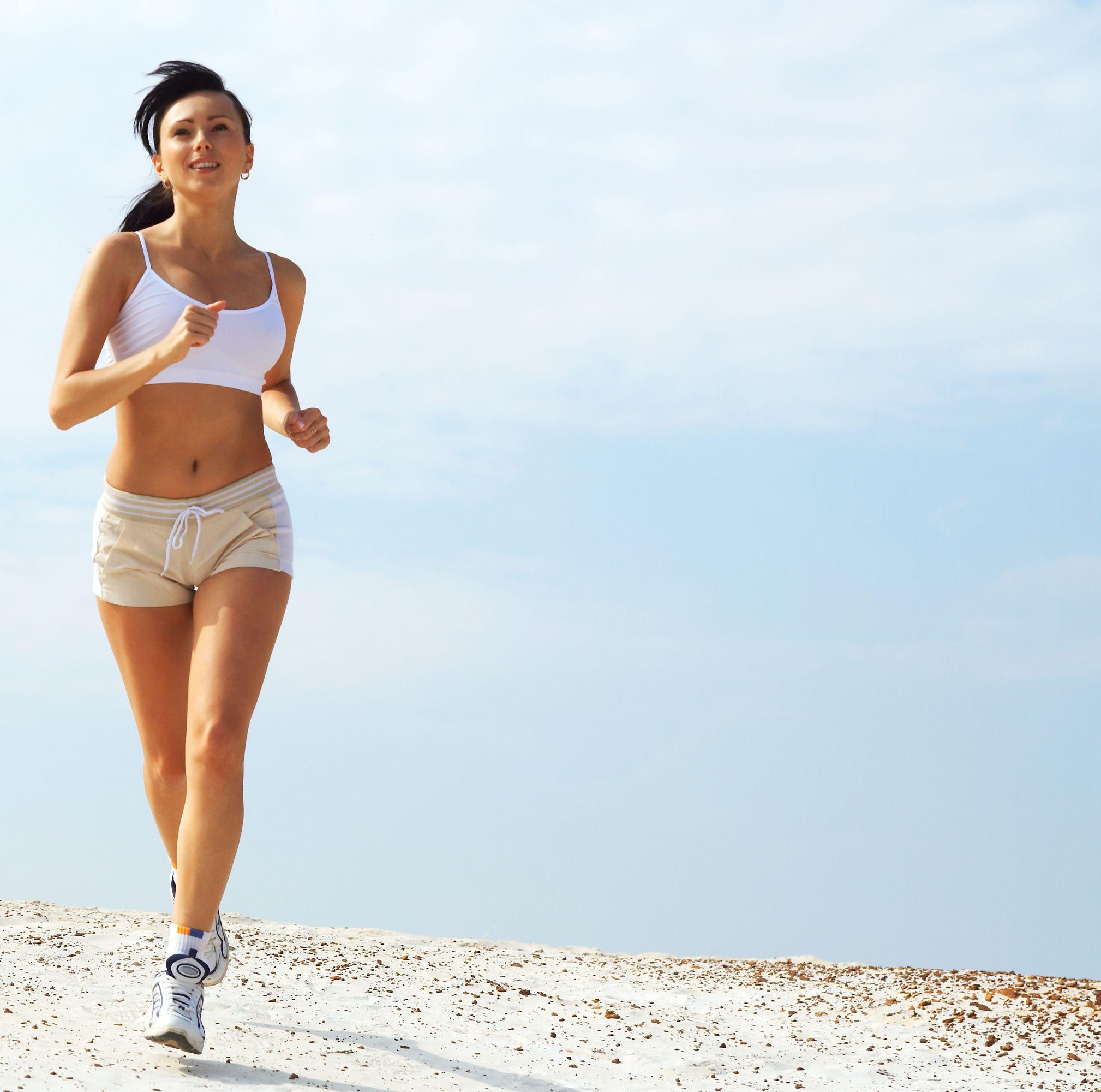 Бег для девушек для похудения