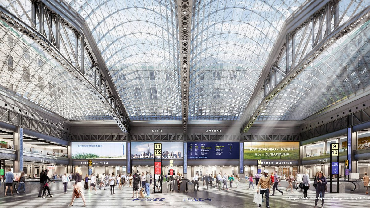 See the grand design that will completely transform Penn Station